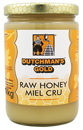 Dutchman's Gold Raw Honey – 2.2 lbs – Unfiltered – Non-pasteurized
