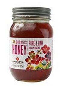 Organic 100% Pure and Raw Honey 22 Ounces (Case of 6)