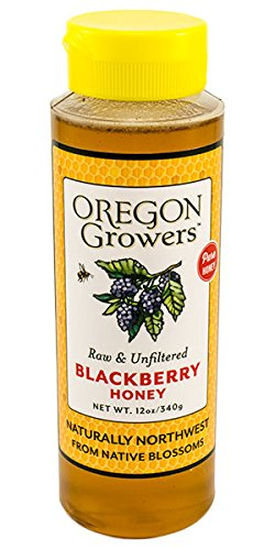 Oregon Growers Raw Unfiltered Blackberry Honey