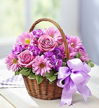 1-800-Flowers – Basket of Blooms – Small