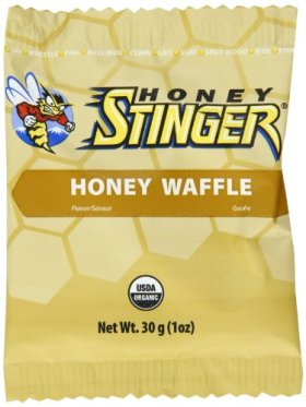 Honey Stinger Organic Honey Waffle, 1 Ounce (Pack of 16)