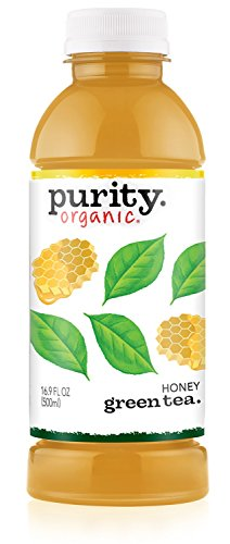 Purity Organic Tea, Honey Green Tea, 16.9 Ounce (Pack of 12)