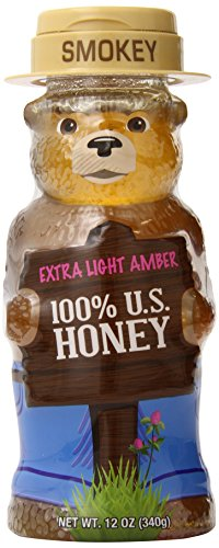 Smokey Bear Amber Honey, Extra Light, 12 Ounce