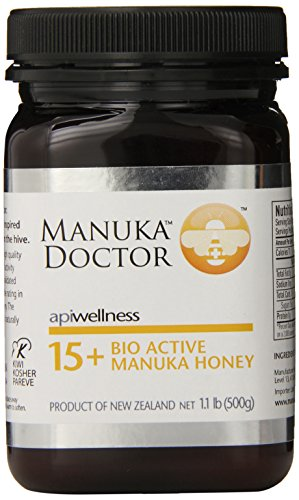 Manuka Doctor Bio Active Honey, 15 Plus, 1.1 Pound