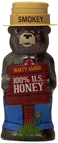 Smokey Bear Amber Honey, Hearty, 12 Ounce