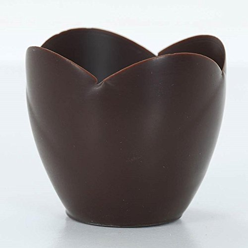 Dark Chocolate Tulip Cup – 3 Inch – 1 box – 30 count