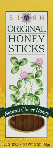 Stash Tea Original Honey Sticks, 20 Count
