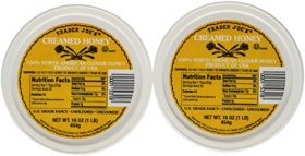 Trader Joe's Spreadable Creamed Clover Honey – 2 Packs