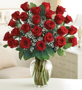 1-800-Flowers – Ultimate Elegance Premium Long Stem Red Roses – 24 Stem Red…