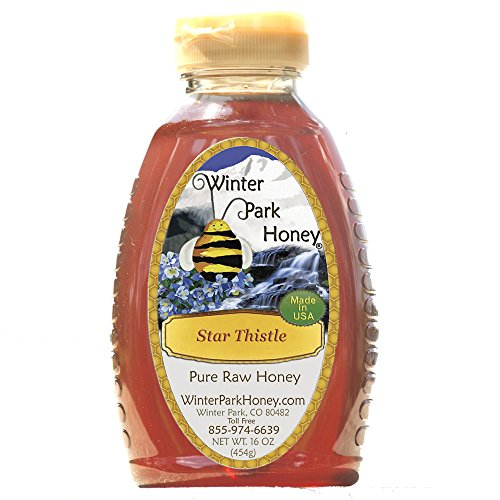 Star Thistle Honey- 16 oz (Pure Natural Raw)