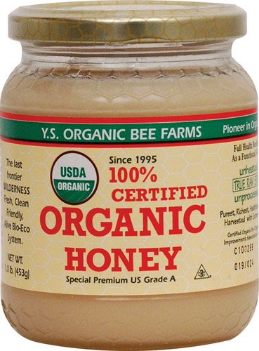 YS Organic Bee Farms – Organic Honey, 16 oz gel