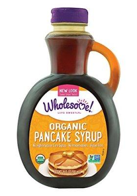 Wholesome Sweeteners Organic Pancake Syrup, Original, 20 Ounce
