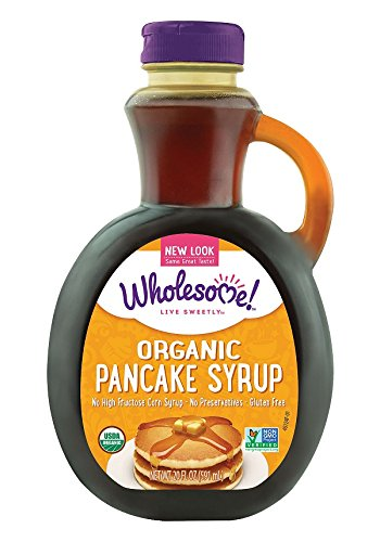 Wholesome Sweeteners Organic Pancake Syrup, Original, 20 Ounce