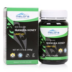 Melora UMF 15+ Manuka Honey, 500g (17.6oz)