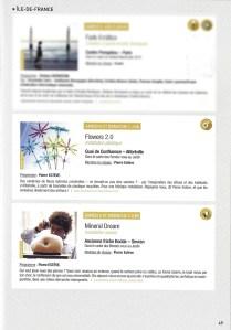Article Flowers2.0 et Mineral Dream - Bien Entendu - Futur Composés