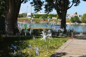 Flowers Of Change, exposition lors des Rendez-Vous aux Jardins à Alfortville (94)