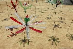 L'oeuvre Flowers de Pierre Estève lors du Festival NoWhere