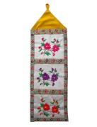 Rukiye's 3 pocket 100  31.5x10in   $45