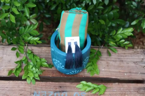Planter Gift Pot - Blue