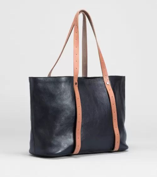 Raaka Tote Black and Tan
