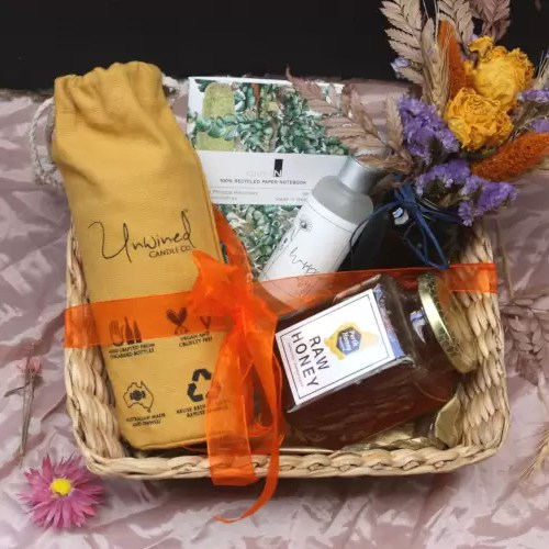 Pamper & Shine Gift Basket
