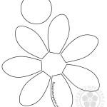Daisy pattern cut out
