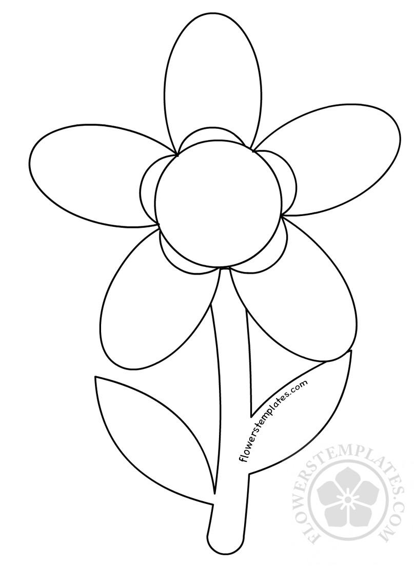 5-petal-flower-template2