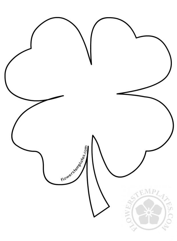 St Patrick's Day Four Leaf Clover
