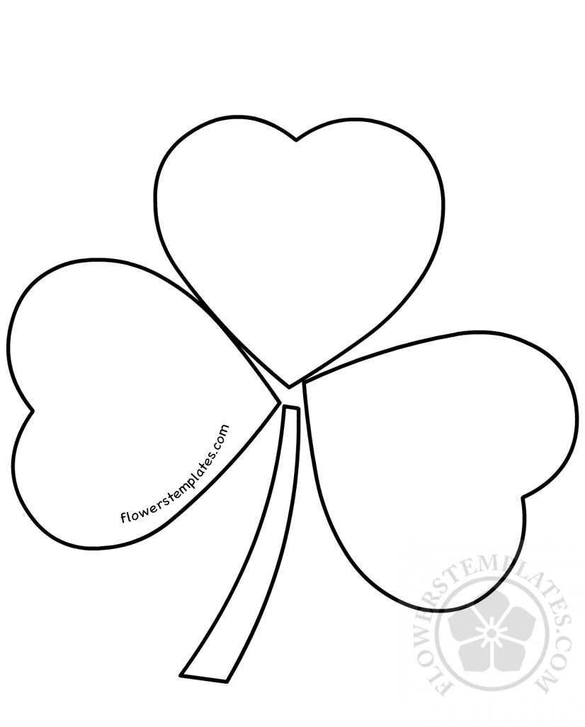 Shamrock | Flowers Templates