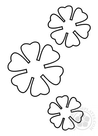 Easy Paper Flowers Craft Templates Flowers Templates