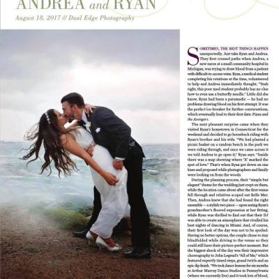Flowerthyme wedding featured in Rhode Island Monthly's Engaged magazine!