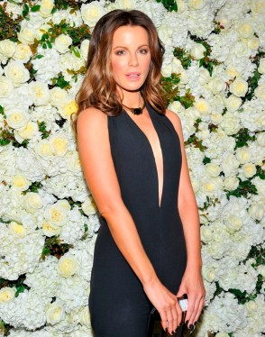 Actress Kate Beckinsale attends David And Victoria Beckham, Along With Barneys New York, (Photo by Donato Sardella/Getty Images for Barneys New York)