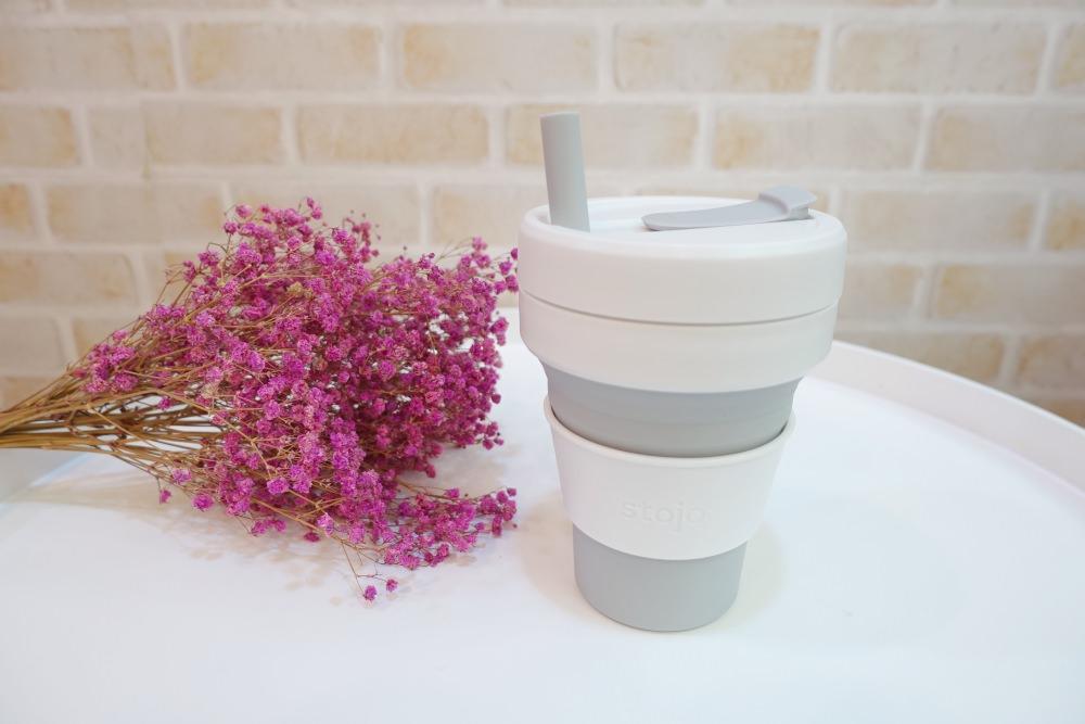 【減塑生活】我的時尚環保矽膠摺疊杯stojo~(含尺寸比較)