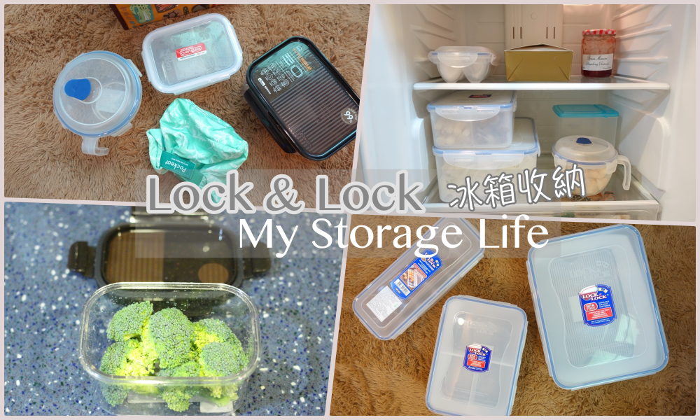 【Lock&Lock用樂扣來收納】職業婦女的備菜之道、冰箱收納、減塑生活