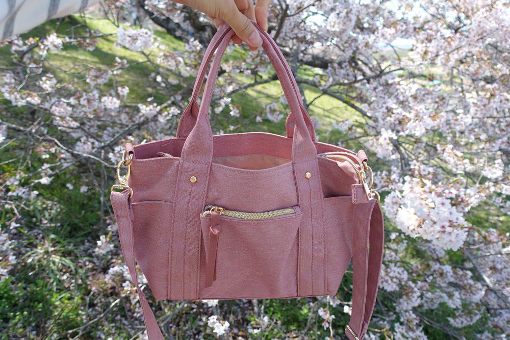 【日本戰利品】OPAQUE.CLIP超輕量多功能粉紅色小托特包~給她100分啦!出國旅遊隨身包/媽媽包都超適合!