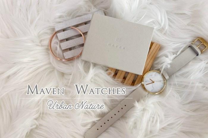 【穿搭】MAVEN 霧面玫瑰金925純銀細手環~與MAVEN大理石手錶的氣質搭配