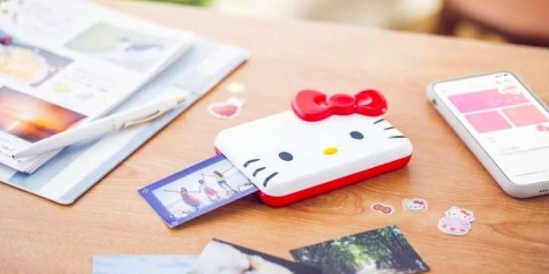 【Hello Kitty】CANON迷你隨身相印機「iNSPiC x Hello Kitty」聯名機,可愛爆棚貓迷必收!
