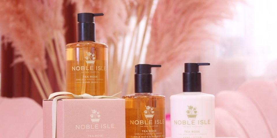 【保養】NOBLE ISLE茶玫瑰洗沐護膚護手保養-優雅英國茶香與玫瑰交織的輕奢享受