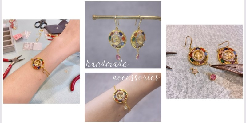 【手作】飾品改造,我的寶石手鏈、寶石耳環不專業分享