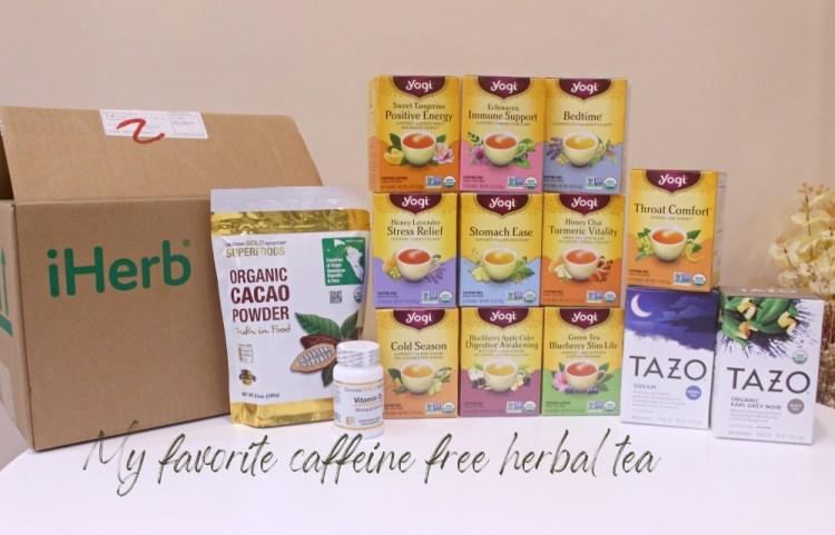 【iHerb折扣碼BVI9641】超划算的Yogi無咖啡因花草茶&TAZO Dream tea舒眠茶~