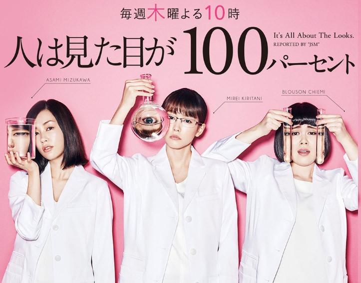 【日劇】幾部跟女子有關的日劇心得:人100%靠外表(外貌協會100%)、女囚7人、東京女子圖鑑、房仲女王SP