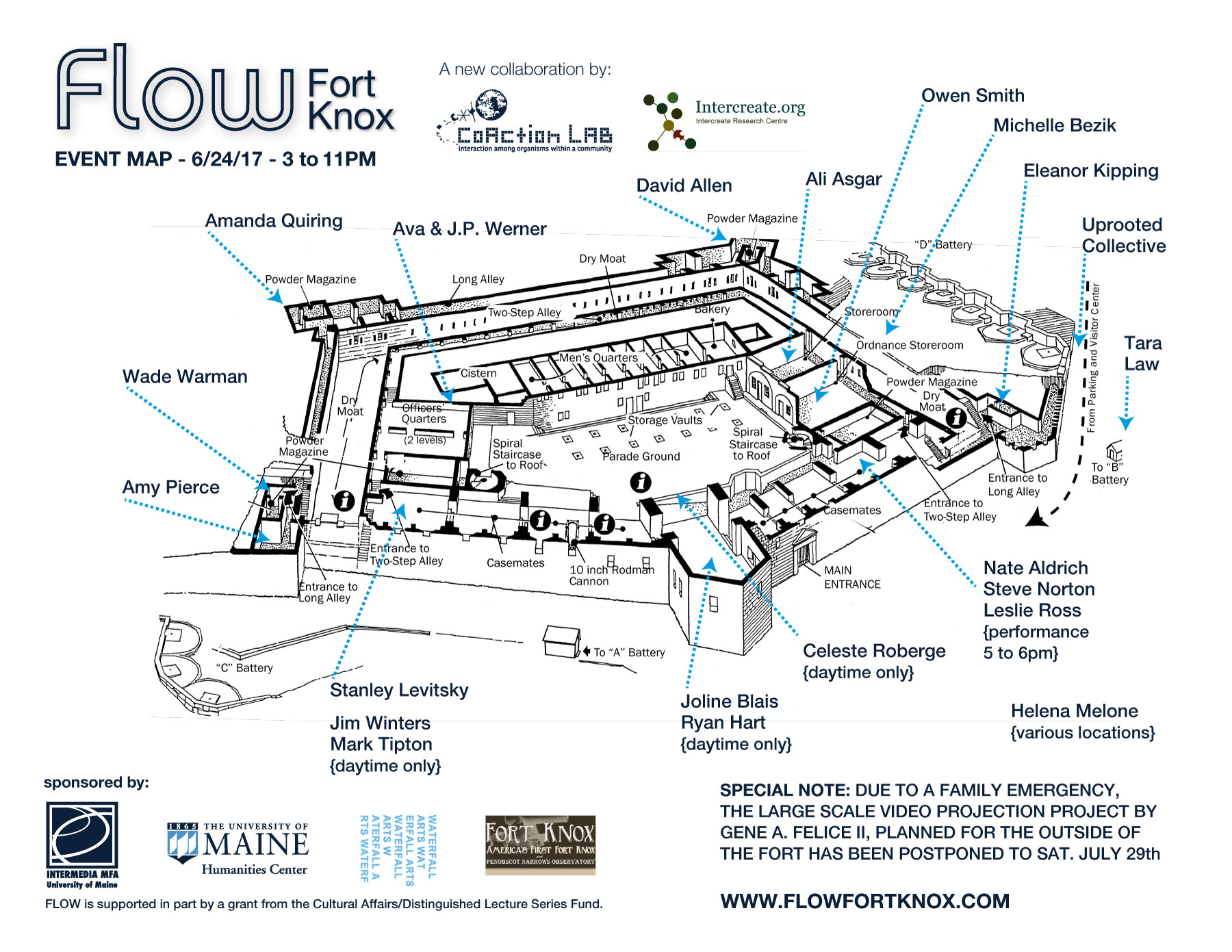 Fort Knox Maine Schematics Trusted Wiring Diagram With Battery Verado Kicker Event Info Flow Final Video Projection Mapping On The Exterior Of