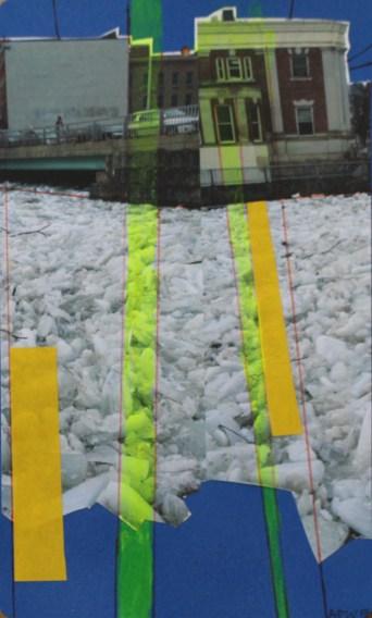 Bangor Icy River