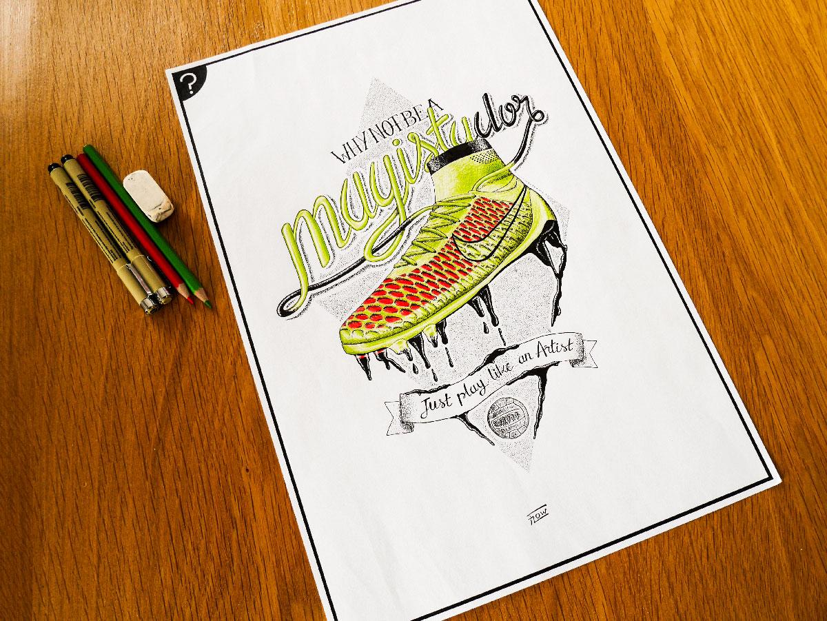 Flowhynot-florent-beaufils-illustration-nike-magista-blackrainbow-agency