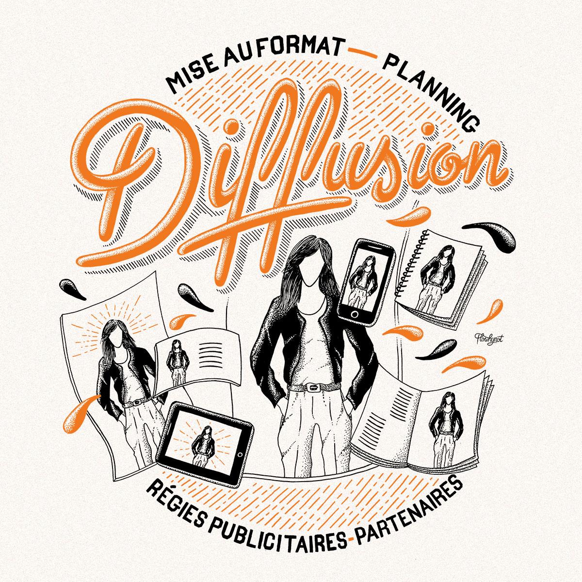 illustration-typographie-florent-beaufils-flowhynot-mandarine-studio