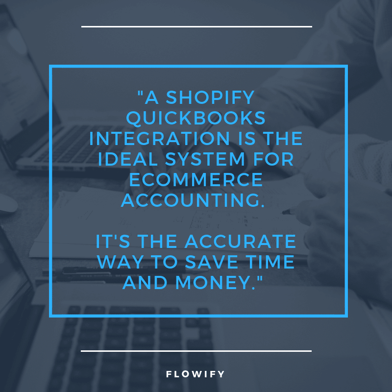 Flowify Quickbooks and Shopify