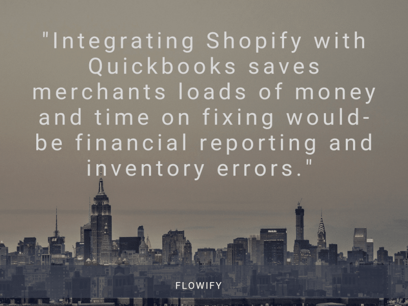 Quickbooks Shopify Integration With Flowify