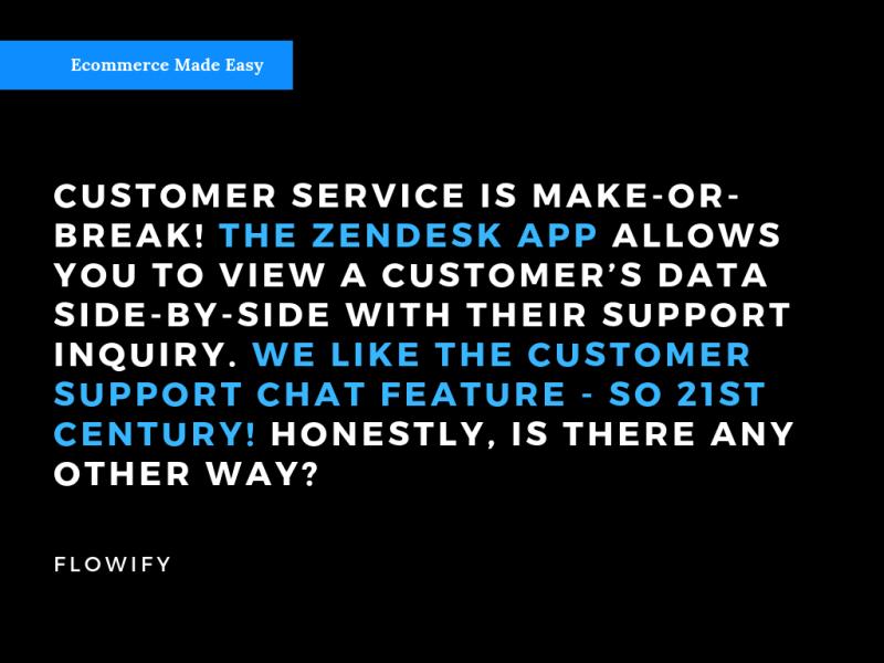 ZenDesk Customer Service Flowify