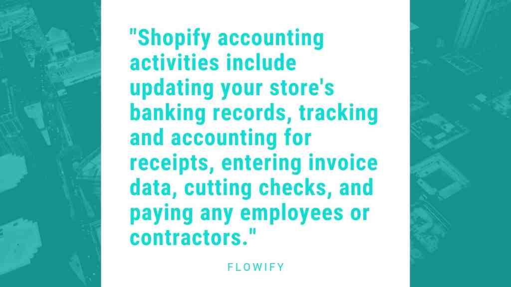 Shopify store accounting basics