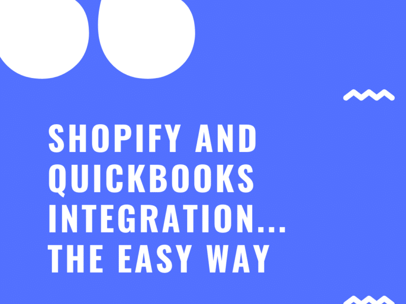 Shopify and Quickbooks Integration Made Easy With Flowify
